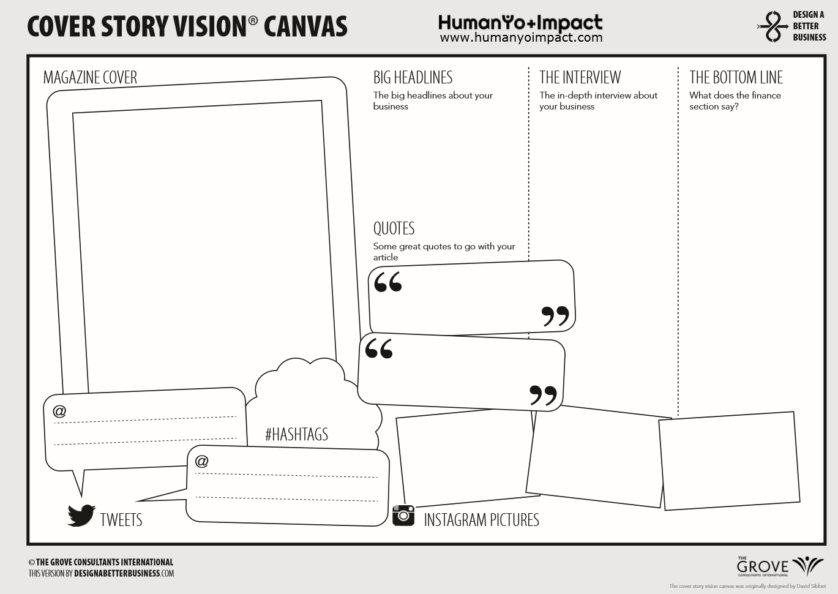 Cover Story Vision Canvas