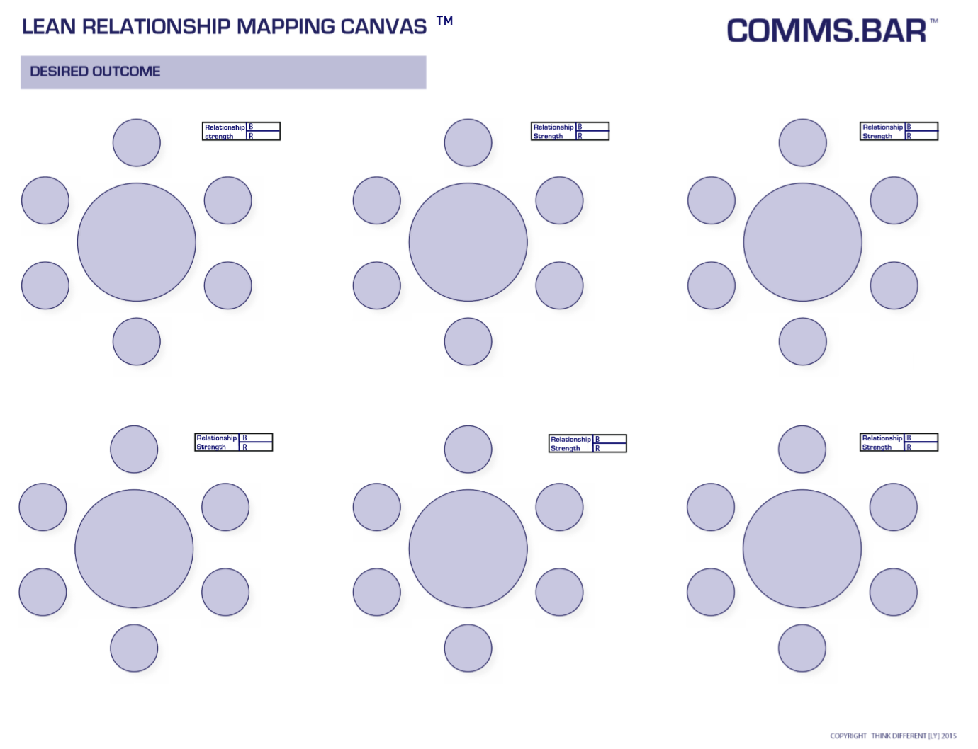 Key Relationship Mapping Canvas